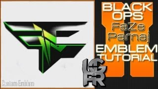 getlinkyoutube.com-Custom Pamaj FaZe Clan Logo : Call of Duty Black Ops 2 Emblem Tutorial