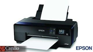 getlinkyoutube.com-Epson SureColor® P600 Inkjet Photo Printer