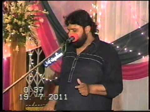 Shokat Raza Shokat - 15 Shaban 2011 Jashan at Qasr-e-Imam Musa Kazim a.s  I-10/1 Isld
