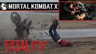 getlinkyoutube.com-Mortal Kombat X-Ray in REAL LIFE¡¡¡ Finish them¡¡ Part #1.HD