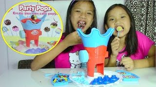 getlinkyoutube.com-Young Chef Party Popz Make Your Own Cake Pops - Kids' Toys