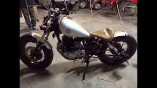 getlinkyoutube.com-Bobber Suzuki Intruder 250 Kit 300cc