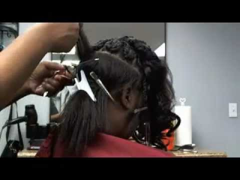 Healthy 1-Hour Weave (No sew, glue, tape)  Part 2 of 2