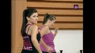 getlinkyoutube.com-عرض لرياضة رقصة الزومبا في برنامج دنيا يا دنيا   Roya - YouTube