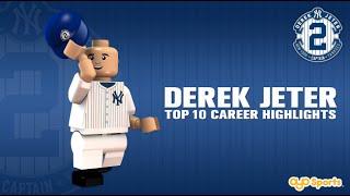 Los mejores momentos de la carrera de Derek Jeter recreados con Legos