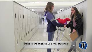 QCHS Struggles with a Broken Leg