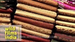 getlinkyoutube.com-Banarasi sarees: famous worldwide for their intricate work and design