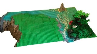 High Speed Lego Hill Build