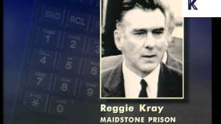 getlinkyoutube.com-March 1995, Reggie Kray Telephone Interview, Archive Footage