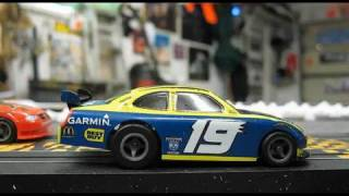 getlinkyoutube.com-1000 MPH Scale speed Slot Cars with onboard CAM, Plus Vertical racing.
