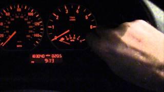 getlinkyoutube.com-Setting the clock on BMW E46 330i and 3 Series.  Time Change from Daylight Savings. 2004
