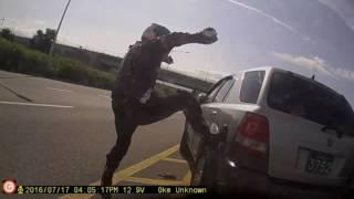 getlinkyoutube.com-익산 경찰치고간 도주차량 바이크로추격 검거