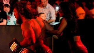 getlinkyoutube.com-720pHD: RAW 05/05/14 Kane attacks Daniel Bryan & Brie Bella