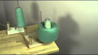 getlinkyoutube.com-Cone Winder - new product by Nancy's Knit Knacks