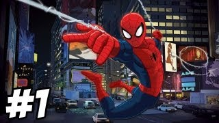 getlinkyoutube.com-Ultimate Spider-Man Walkthrough | Part 1 (Xbox/PS2/Gamecube/PC)