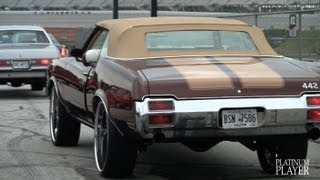 getlinkyoutube.com-OLDS 442 VERT on 24 INCH FORGIATO AZIONI- ATLANTA