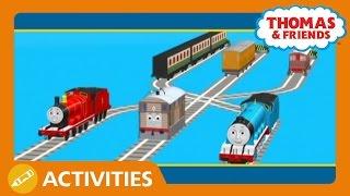 getlinkyoutube.com-Thomas & Friends UK: Pulling Coaches