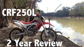 getlinkyoutube.com-CRF250L 2 year review - Motovlog