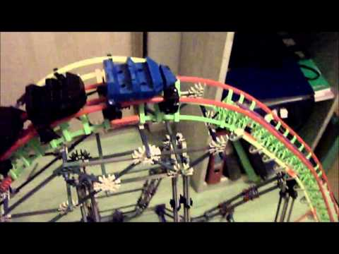 K nex coaster WWS Update #1 (Tube supported coaster)