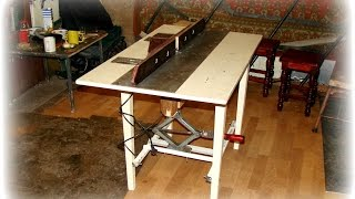 getlinkyoutube.com-Простой фрезерный стол своими руками