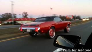 getlinkyoutube.com-71 cutlass vert on 26s kandy tangerine