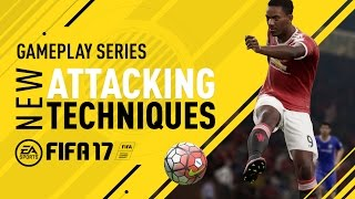 FIFA 17 Gameplay Features - New Attacking Techniques - Anthony Martial width=
