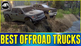 getlinkyoutube.com-BEST OFFROAD TRUCKS!!! - Spin Tires (Dually Dodge 5500 & Ford Raptor)