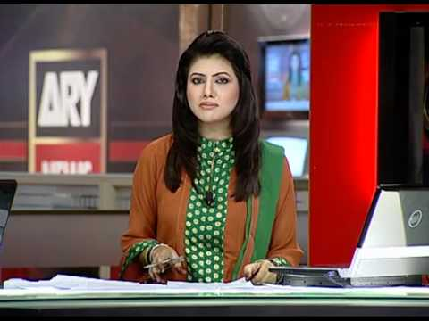 Saima Umar Hayat  Ary news anchor