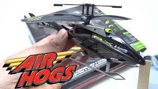 getlinkyoutube.com-Unbox Reseña Helicoptero A Control Remoto Juguete Air Hogs 4 Canales Resistente A Golpes Recargable