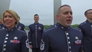 USAF Singing Sergeants - National Anthem