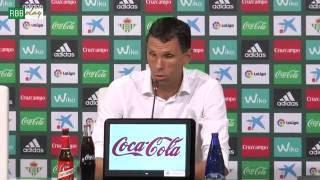Resumen de las declaraciones de Poyet, Álex Alegría y Bruno tras el partido contra el Málaga CF