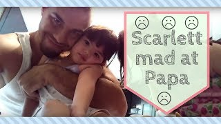 getlinkyoutube.com-Scarlett mad at papa :(