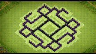 getlinkyoutube.com-Clash of Clans - Awesome Town Hall 7 Farming Base (Aphrodite) Speed Build
