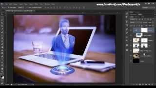 getlinkyoutube.com-63.[Ps] Hologram Effect - Photoshop Tutorial [In Hindi]