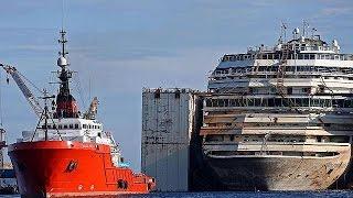 El negocio de rescatar y desmantelar el Costa Concordia - economy