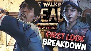 getlinkyoutube.com-The Walking Dead Season 3 - A New Frontier Extended First Look Breakdown