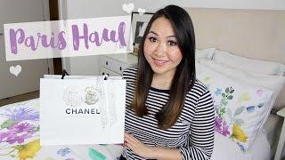 getlinkyoutube.com-Paris Trip Haul & Chanel Unboxing! | Chase Amie