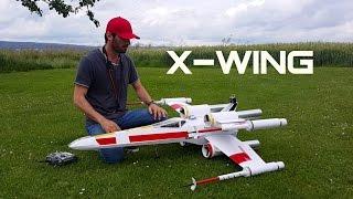 getlinkyoutube.com-STAR WARS: X-WING twin EDF RC airplane