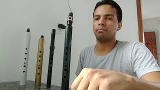 Sax mini, xaphoon, Pocket sax, flauta, boquilha de sax alto