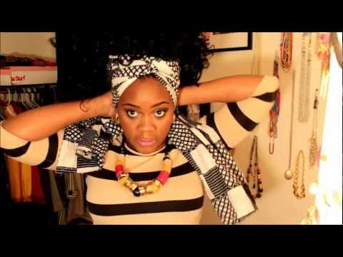 8 ways to style: Partial sew in with braids (AZONTO)