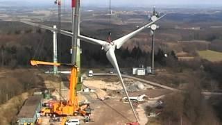getlinkyoutube.com-Montage des Rotors an einer E82-E2
