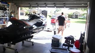 getlinkyoutube.com-Using an Aqua Cart AQ-19 To Remove JetSki From Trailer