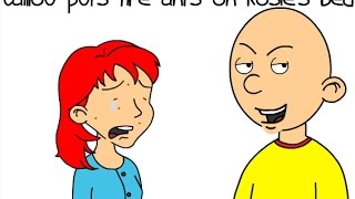 getlinkyoutube.com-Caillou puts fire ants on Rosie's bed