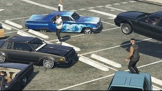 getlinkyoutube.com-GTA 5 Online Lowrider Car Meet