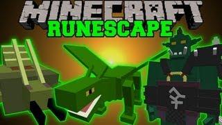 getlinkyoutube.com-Minecraft : RUNESCAPE MOD (EPIC BOSSES, EPIC GEAR, RPG) Scapecraft Mod Showcase