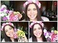 DIY: Cómo hacer una corona de flores