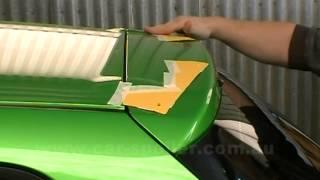 getlinkyoutube.com-How to install a spoiler on a Mazda 2