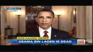 Osama Bin Laden is Dead, Obama Speech at the White House