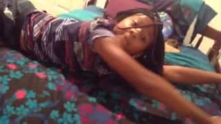 getlinkyoutube.com-Girl falling off of the bed