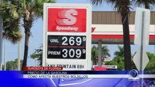 ¿Cómo afecta el precio de la gasolina nuestros bolsillos?